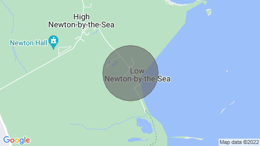 Coastguard Cottage Map