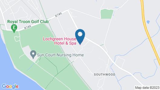 Lochgreen House Hotel Map