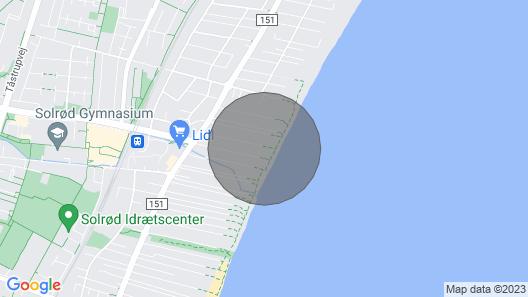 3 Bedroom Accommodation in Solrød Strand Map
