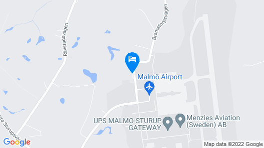 Sturup Airport Hotel Map