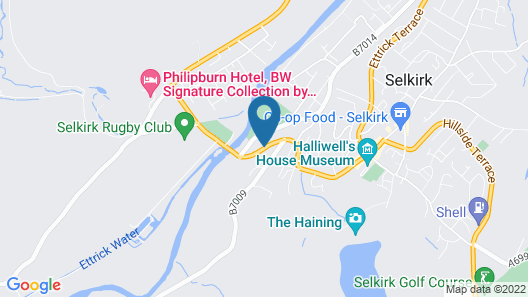 The Glen Hotel Map