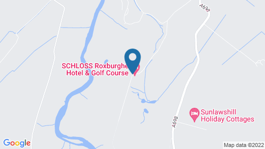 SCHLOSS Roxburghe Hotel & Golf Course Map