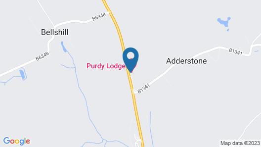 Purdy Lodge Map