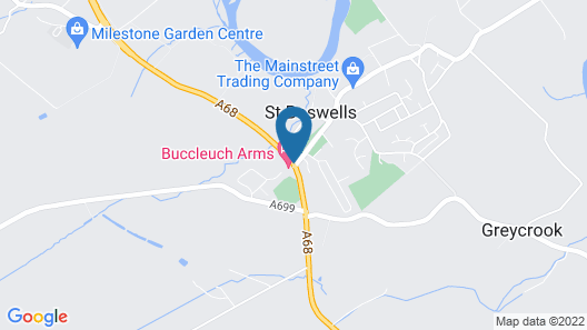 Buccleuch Arms Map