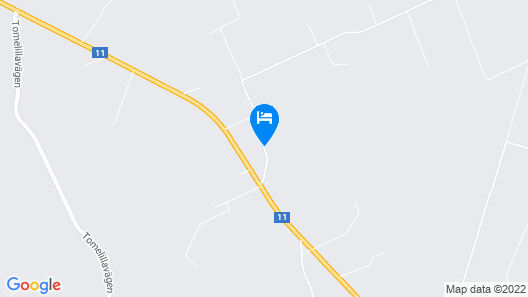 Landet Bed and Breakfast Map