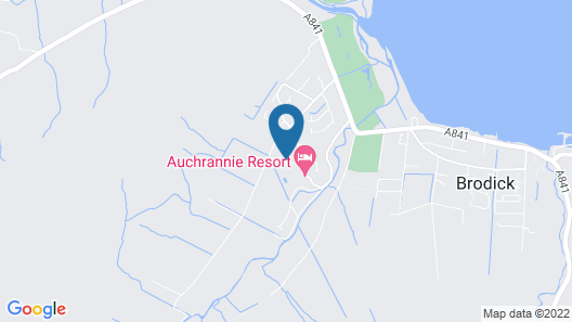 Auchrannie Resort Map