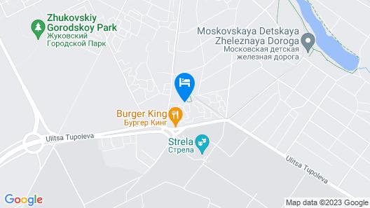 Apartment on Nizhegorodskaya Map