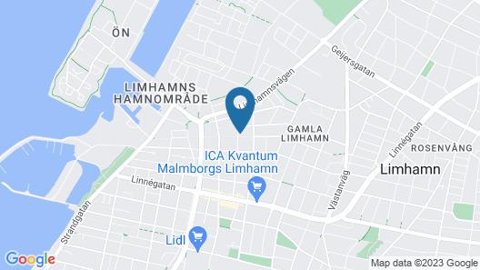 3 Huoneen Majoitus Limhamn Map