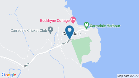 Carradale Hotel Map