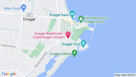 Dragør Badehotel Map