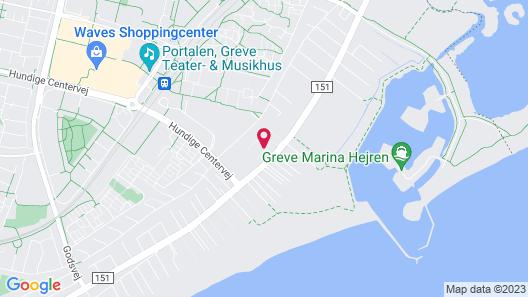 Hundige Strand Familiecamping Map