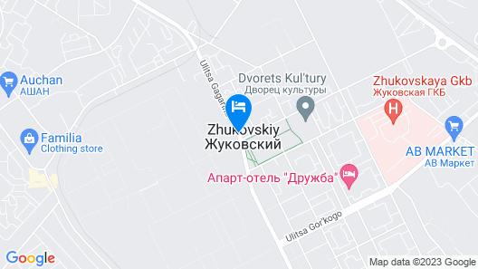 Zhukovsky apartment Map