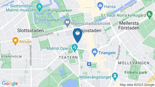 Hotel N Hostel Malmö City Map