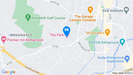 The Park Hotel Map