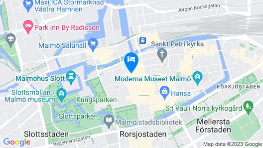 Elite Hotel Esplanade Map