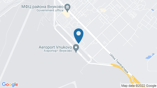 DoubleTree by Hilton Moscow Vnukovo Airport Map