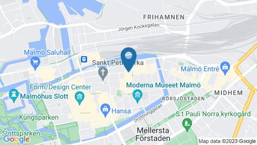 Radisson Blu Hotel, Malmö Map