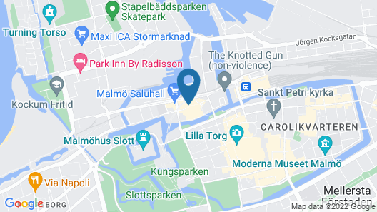 Clarion Hotel Malmö Live Map