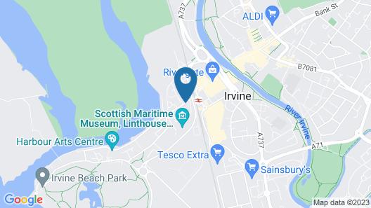 Harbourside Hotel Map