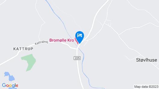 Bromølle Kro Map