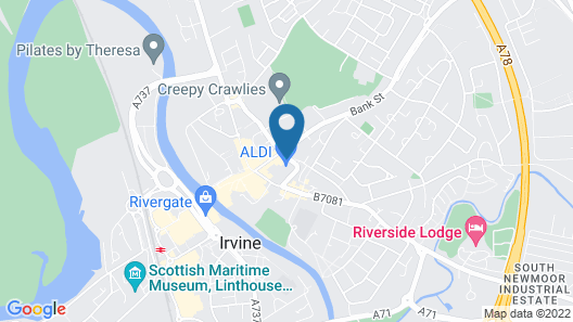 IRVINE GUEST HOUSE Map