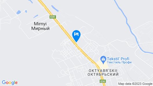 Aurora Hotel Map