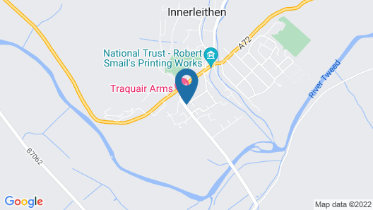 Traquair Arms Hotel Map