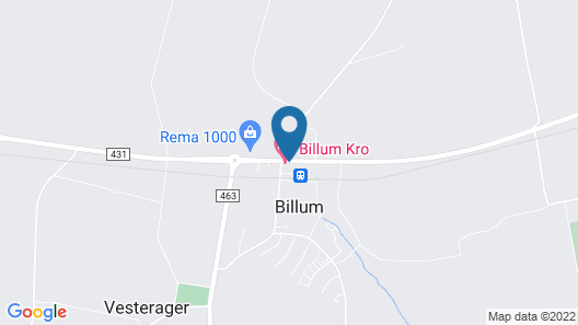Billum Kro Map