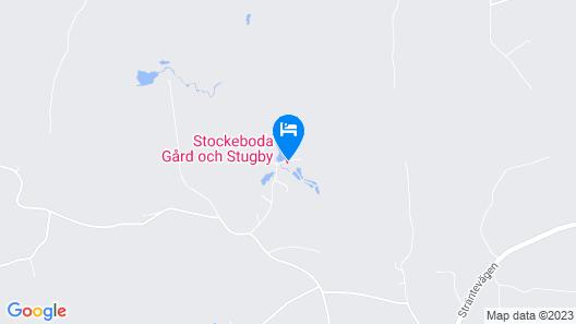 Stockeboda Gård och Stugby Map