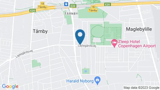 Bel Air Copenhagen Map