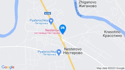 Hotel Nesterovo Map