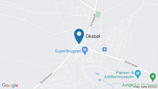 KonceptHotel - Danhostel Blåvandshuk Map