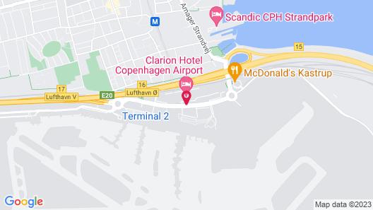 Clarion Hotel Copenhagen Airport Map