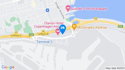 Comfort Hotel Copenhagen Airport Map