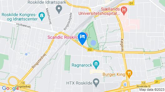 Scandic Roskilde Park Map