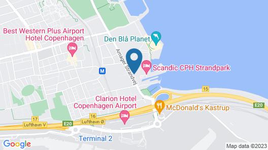 Scandic CPH Strandpark Map