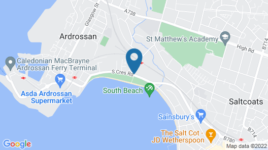 The Lauriston Hotel Map