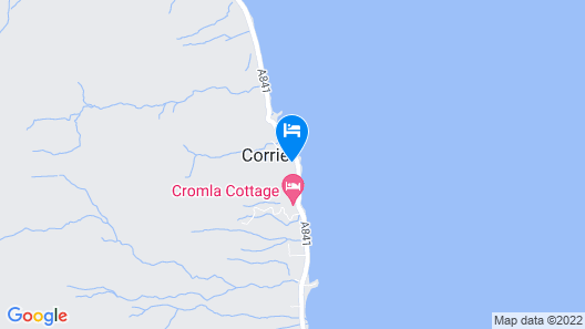 Corrie Hotel Map