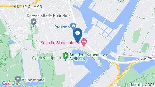 Scandic Sluseholmen Map