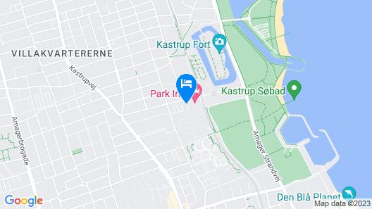 Park Inn by Radisson Copenhagen Airport Map