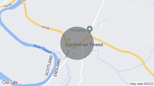 Pelshaven Cottage – your peaceful border getaway! Map