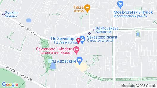 Hotel Sevastopol Modern Map