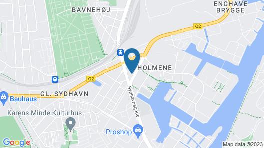 Moxy Copenhagen Sydhavnen Map