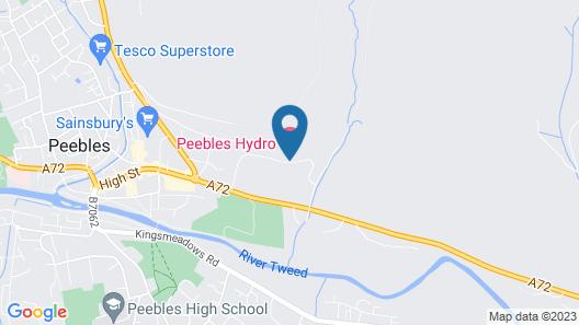Peebles Hydro Hotel Map