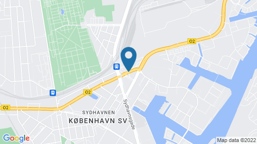 Scandic Sydhavnen Map