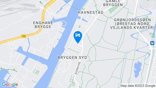 STAY Bryggen Map