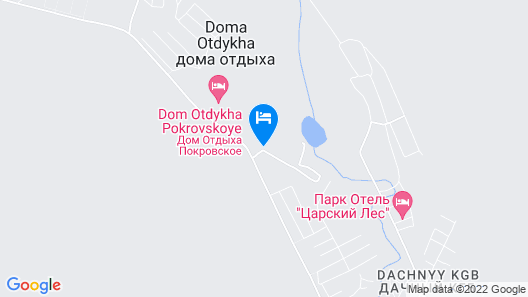 Park-Hotel Tsarsky Les Map