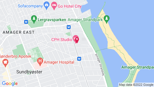 CPH Studio Hotel Map