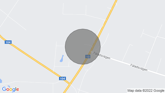 2 Bedroom Accommodation in Sjöbo Map