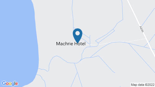 The Machrie Hotel & Golf Links Map